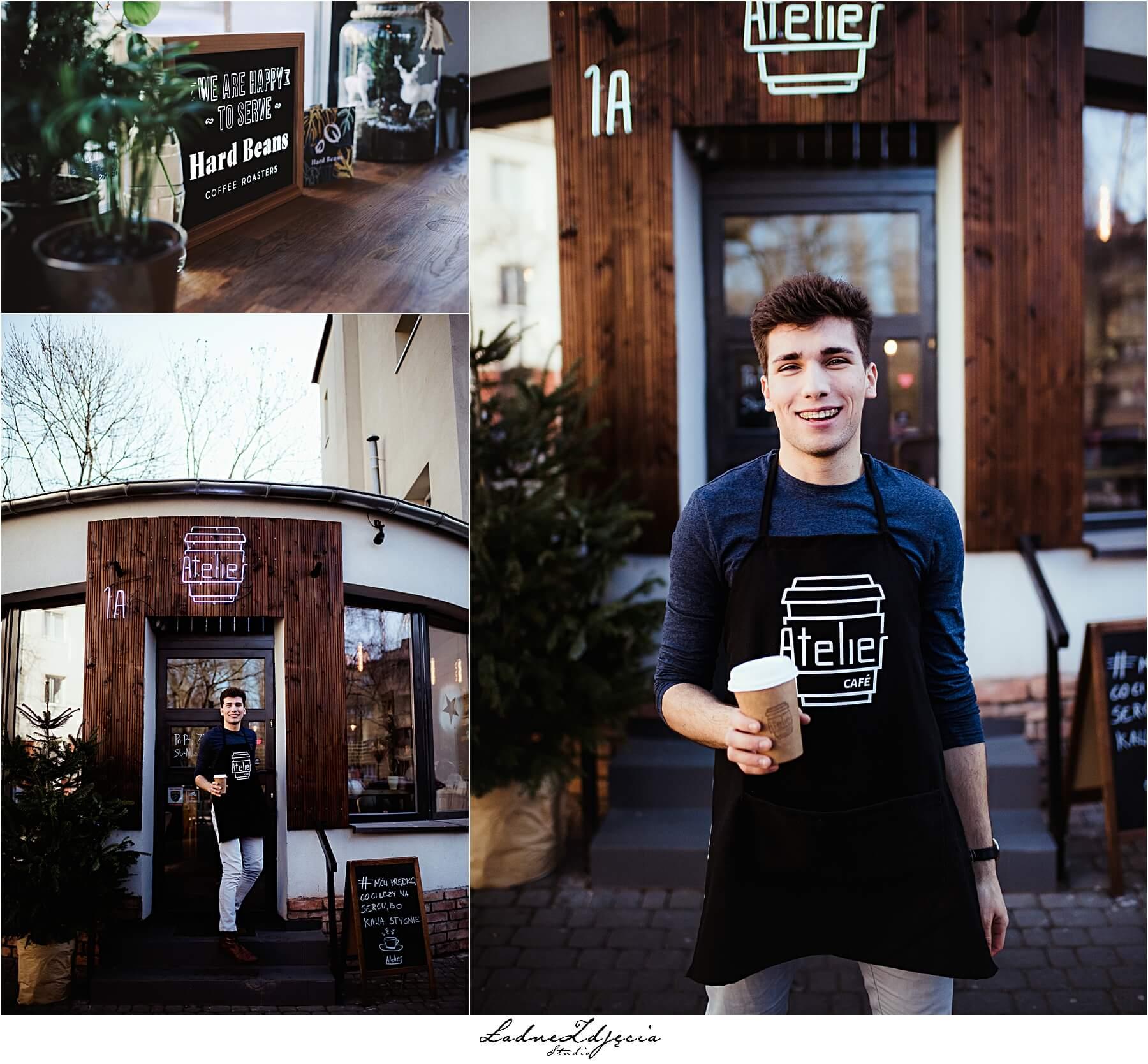 LAdneZdjecia dla Atelier Cafe