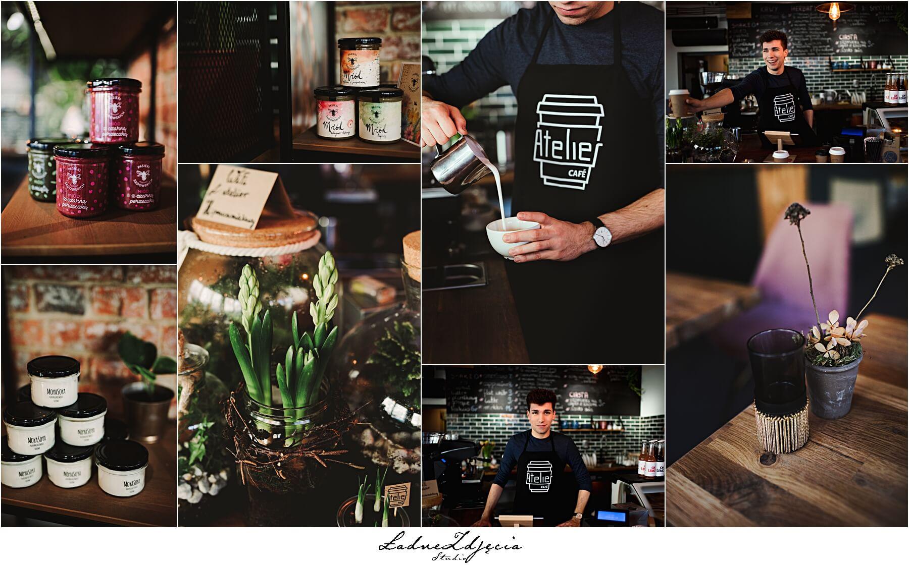 Atelier Cafe sesja wizerunkowa
