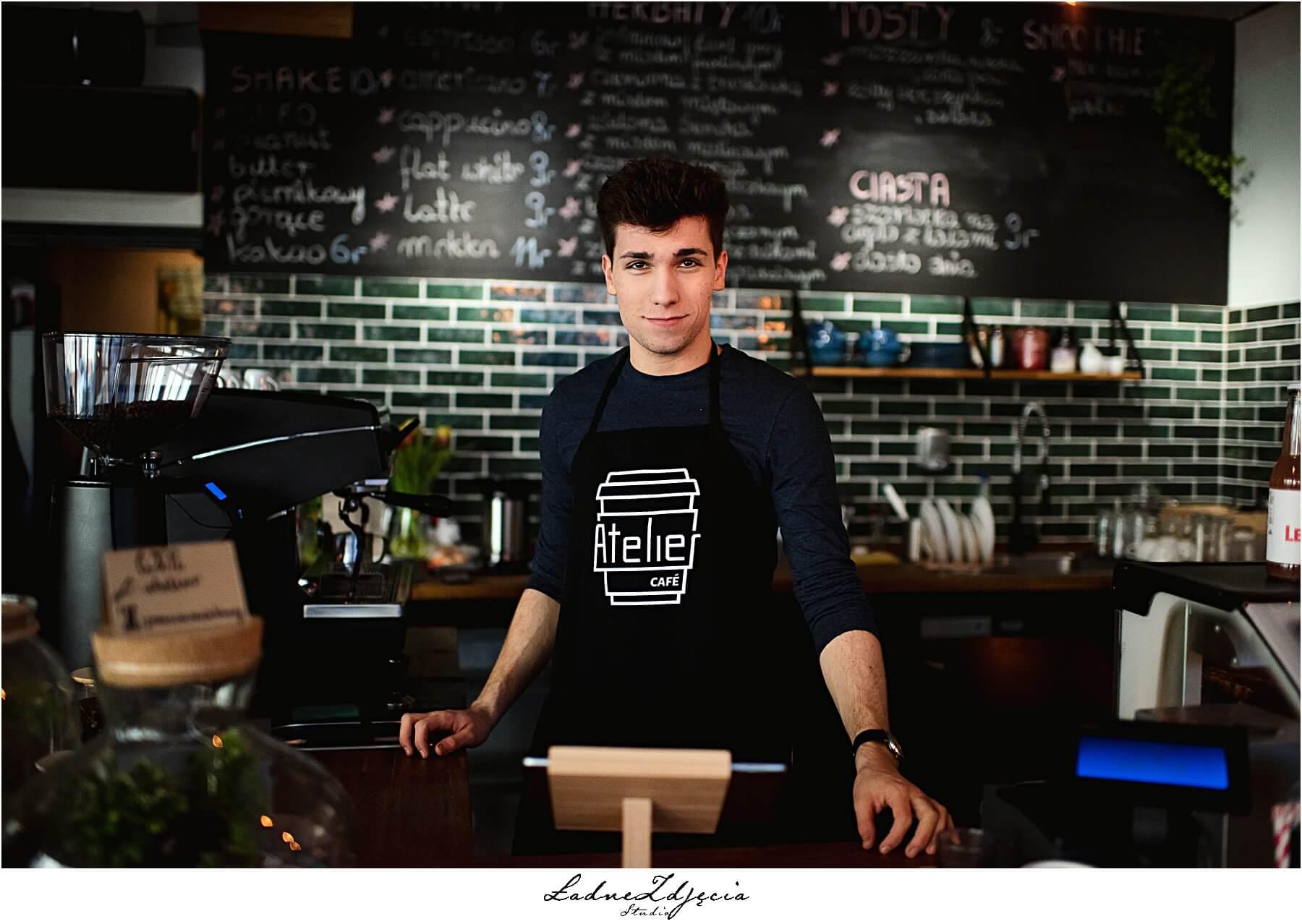 Sesja dla Atelier cafe